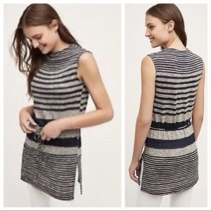 PRICE FIRM! Anthropologie striped tunic